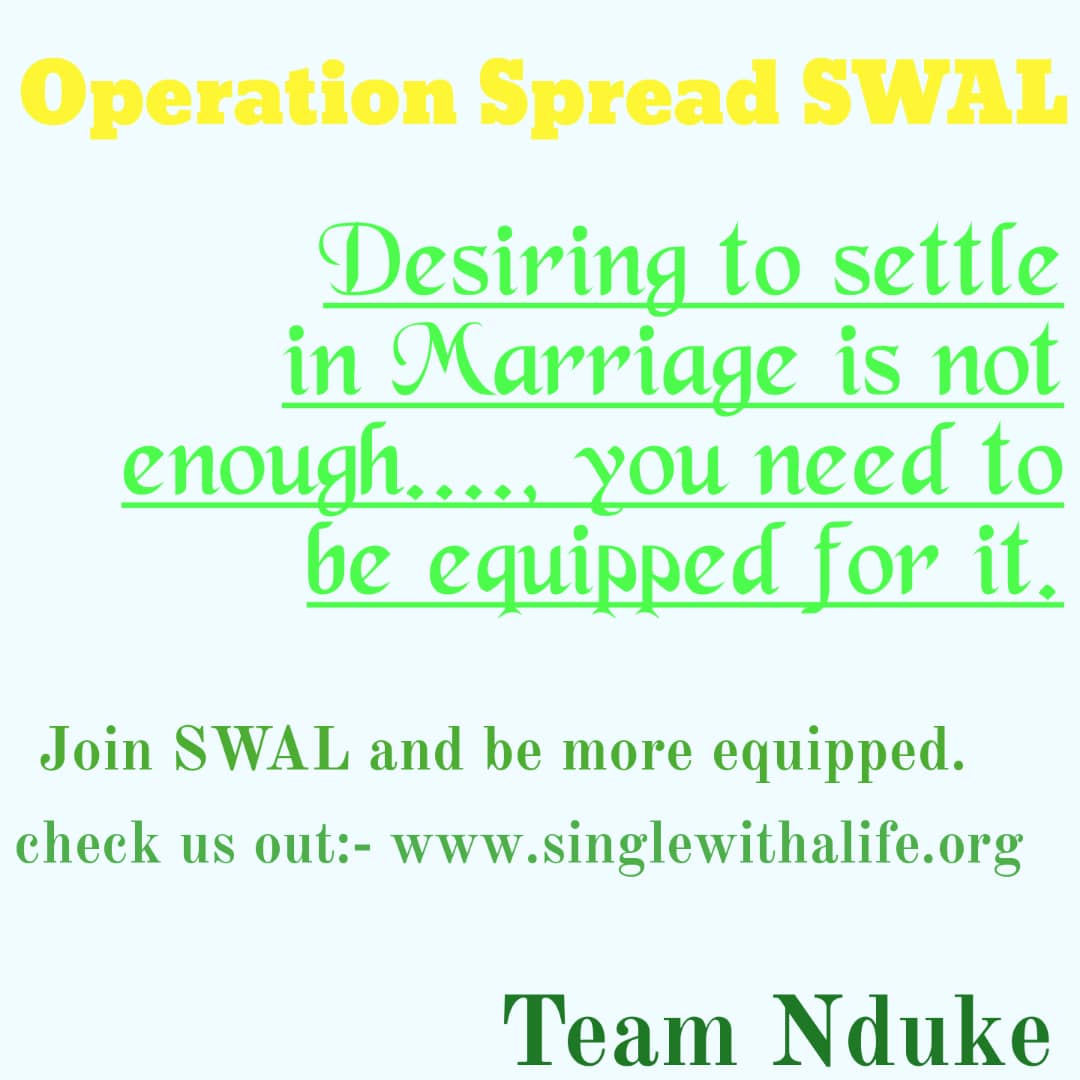 WhatsApp Group – Single WITH A LIFE (SWAL)